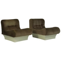Pair of Otto Zapf Lounge Chairs for Vitsoe