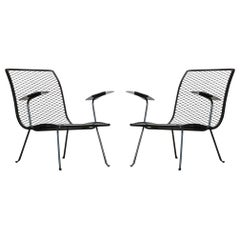 Pair of Outdoor Patio Lounge Chairs by Karl Lightfoot Studio