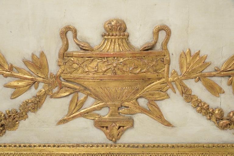 Wood Pair of Overdoors circa 1780, Supraporte For Sale