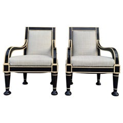 Pair of Oversized Armchairs by Hendrix-Allardyce
