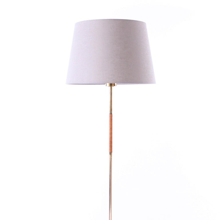 Danish Pair of Paavo Tynell Floor Lamps Idman 1950s For Sale