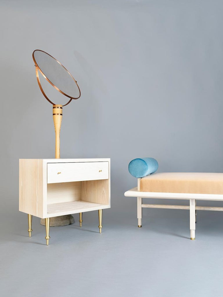 Contemporary Pair of Pacific Nightstands by VOLK For Sale