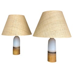 Pair of Paco Orti Table Lamps, circa 2020, Spain