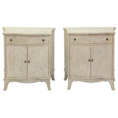 Pair of Italian Painted Cabinets