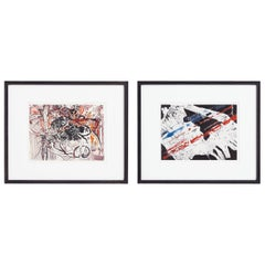 Pair of Paintings by Jacques de Panafieu