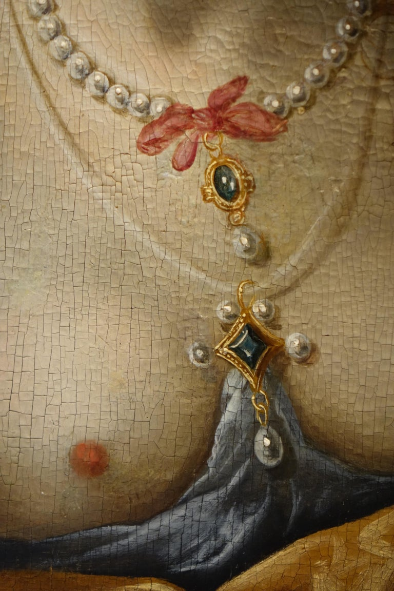 Pair of Paintings on Panel, Workshop of Abraham Janssens For Sale 8