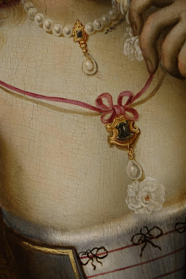 Baroque Pair of Paintings on Panel, Workshop of Abraham Janssens For Sale