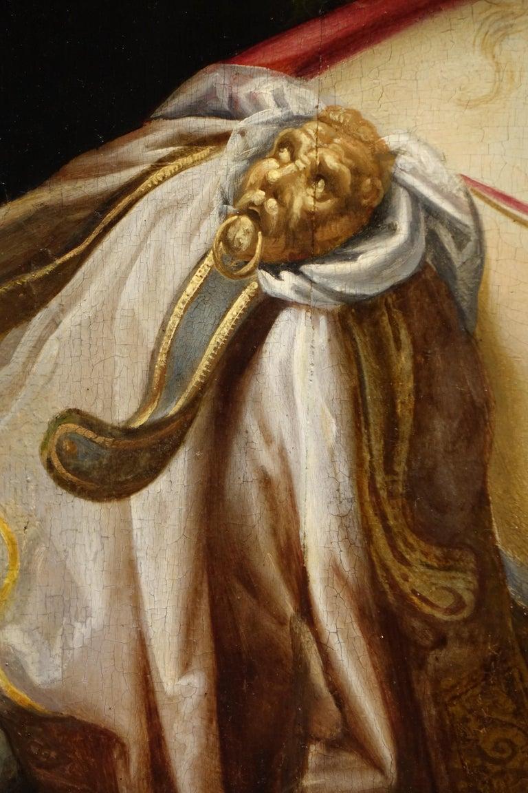 Italian Pair of Paintings on Panel, Workshop of Abraham Janssens For Sale