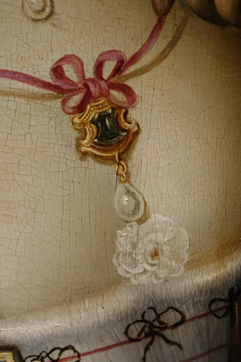 Pair of Paintings on Panel, Workshop of Abraham Janssens In Good Condition For Sale In Paris, FR