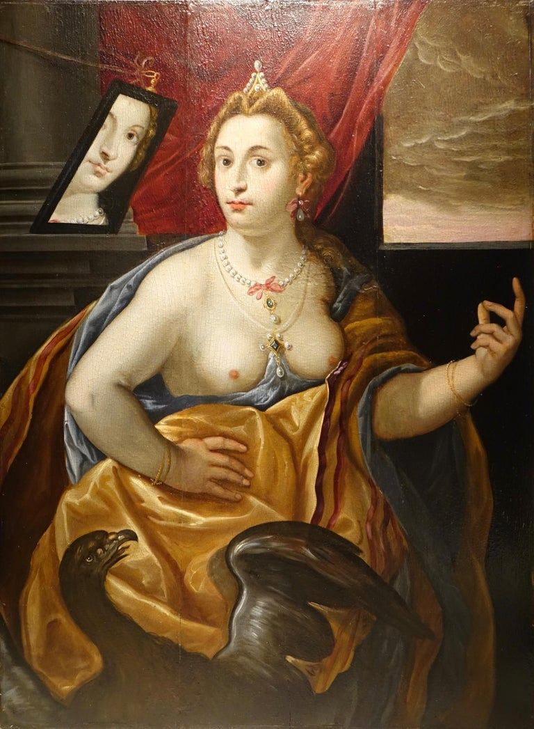 Pair of Paintings on Panel, Workshop of Abraham Janssens For Sale 2