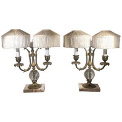 Pair of Pairpoint Lamps, circa 1910
