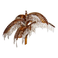 Pair of Palm Tree Chandeliers,  Sold Individually