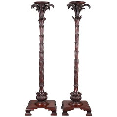 """Pair of """"Palmtree"""" Shaped Stands"""