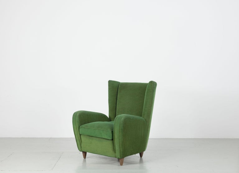 Pair of Paolo Buffa Armchairs For Sale 3