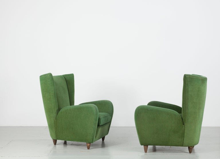Pair of Paolo Buffa Armchairs For Sale 6