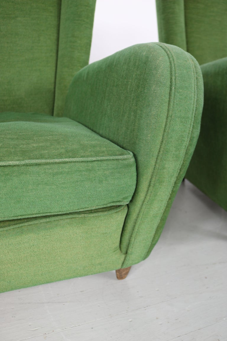 Pair of Paolo Buffa Armchairs For Sale 11