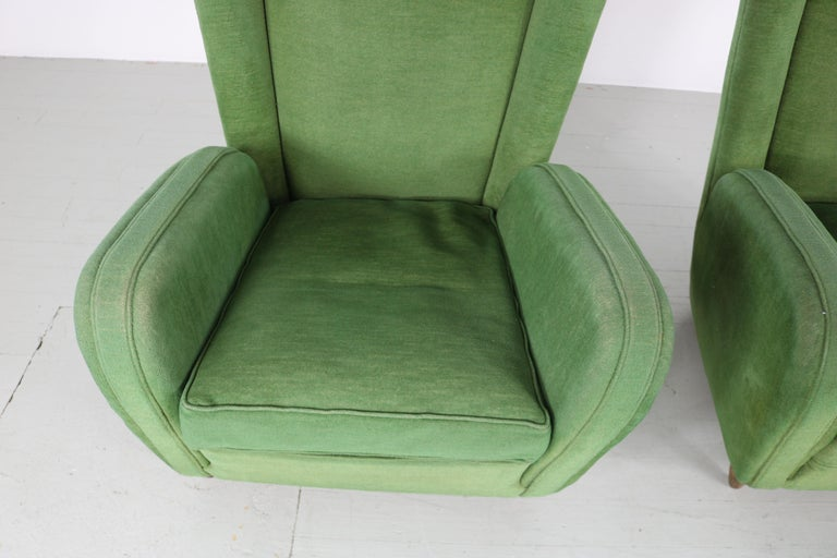 Pair of Paolo Buffa Armchairs For Sale 13