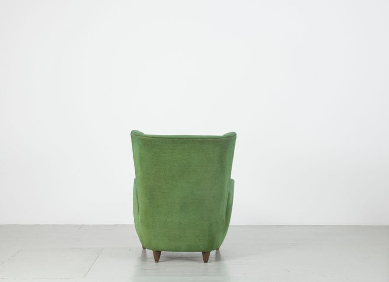 Mid-20th Century Pair of Paolo Buffa Armchairs For Sale