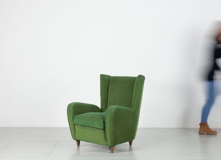 Pair of Paolo Buffa Armchairs For Sale 2