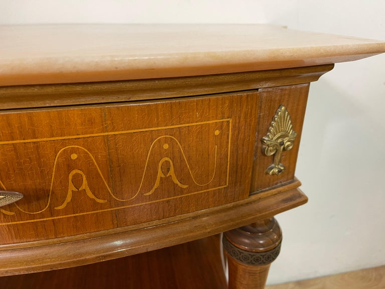 Pair of Paolo Buffa Bedside Tables For Sale 3