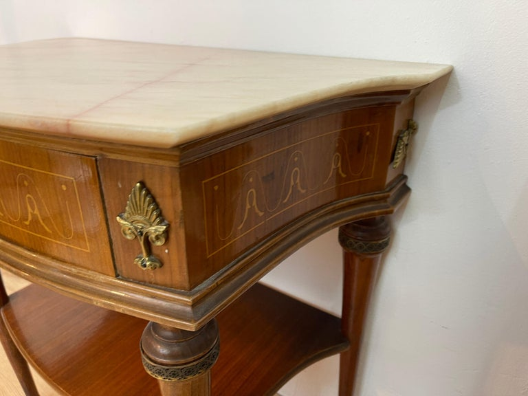 Pair of Paolo Buffa Bedside Tables For Sale 2