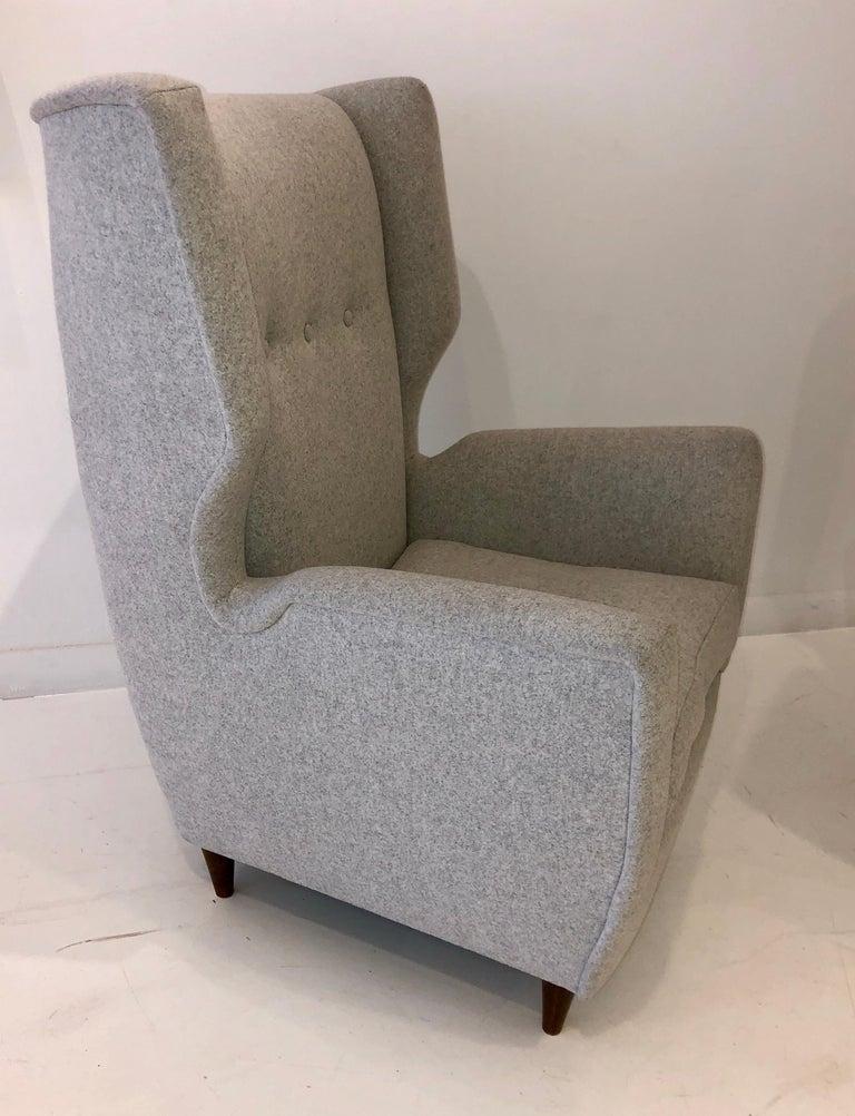 Italian Pair of Paolo Buffa Club Chairs For Sale