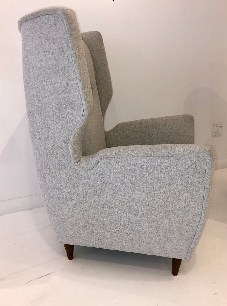 Pair of Paolo Buffa Club Chairs In Good Condition For Sale In Hudson, NY