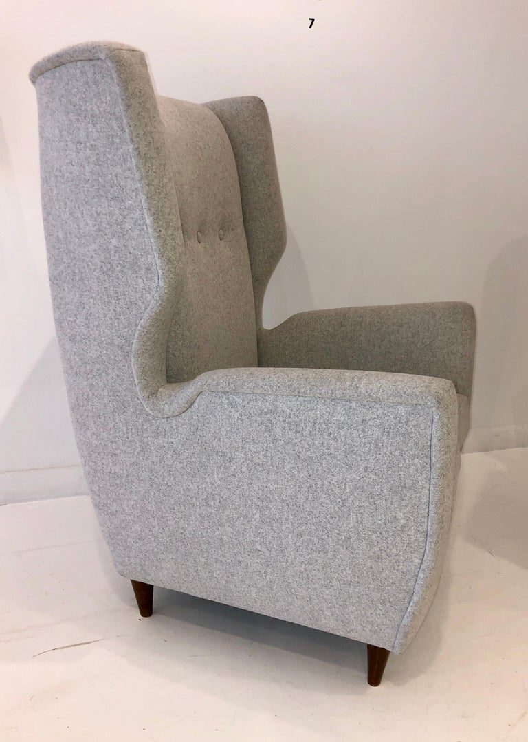Mid-20th Century Pair of Paolo Buffa Club Chairs For Sale
