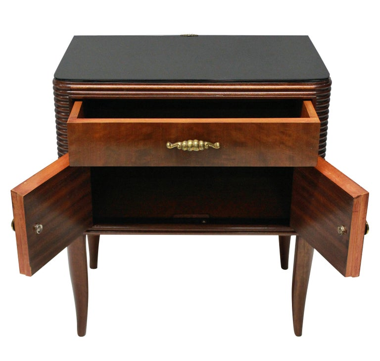 Mid-Century Modern Pair of Paolo Buffa Nightstands