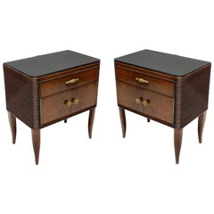 Pair of Paolo Buffa Night Stands