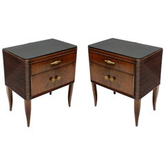 Pair of Paolo Buffa Nightstands