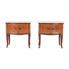 Pair of Paolo Buffa Style Nightstands