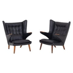 Pair of Papa Bear Chairs by Hans J. Wegner