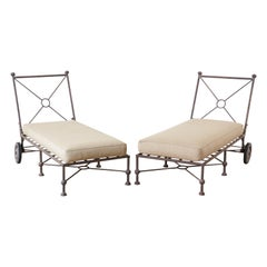 Pair of Papperzini for Salterini Style Patio Lounge Chairs