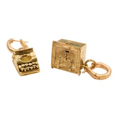 Pair of Particular Gold Earrings