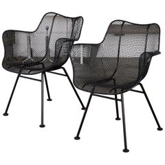 """Pair of Patio """"Sculptura"""" Armchairs by Russell Woodard"""