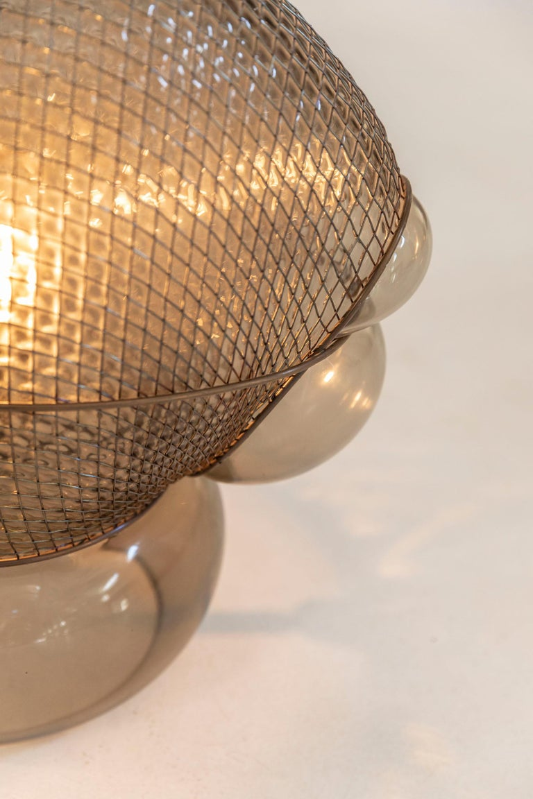 Metal Pair of Patroclo Table Lamps Designed by Gae Aulenti for Artemide, Italy, 1975 For Sale