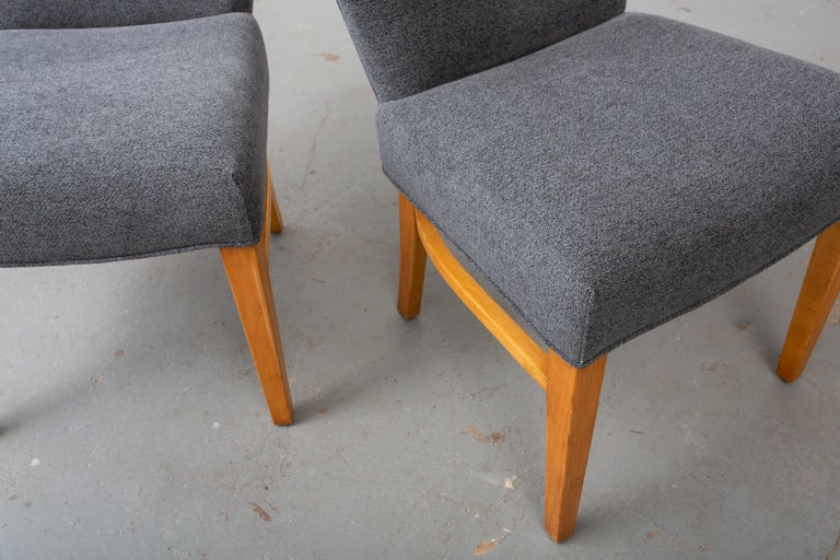 Pair of Paul Frankl Corset Side Chairs For Sale 2