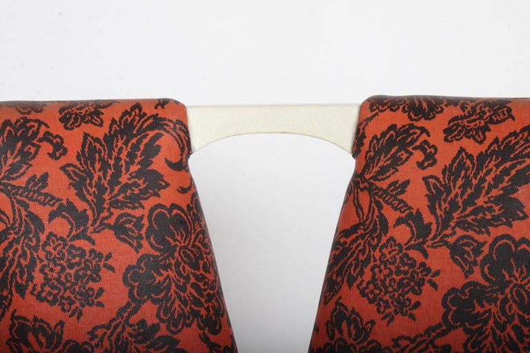 American Pair of Paul Frankl for Johnson Corset Side Dining Chairs For Sale