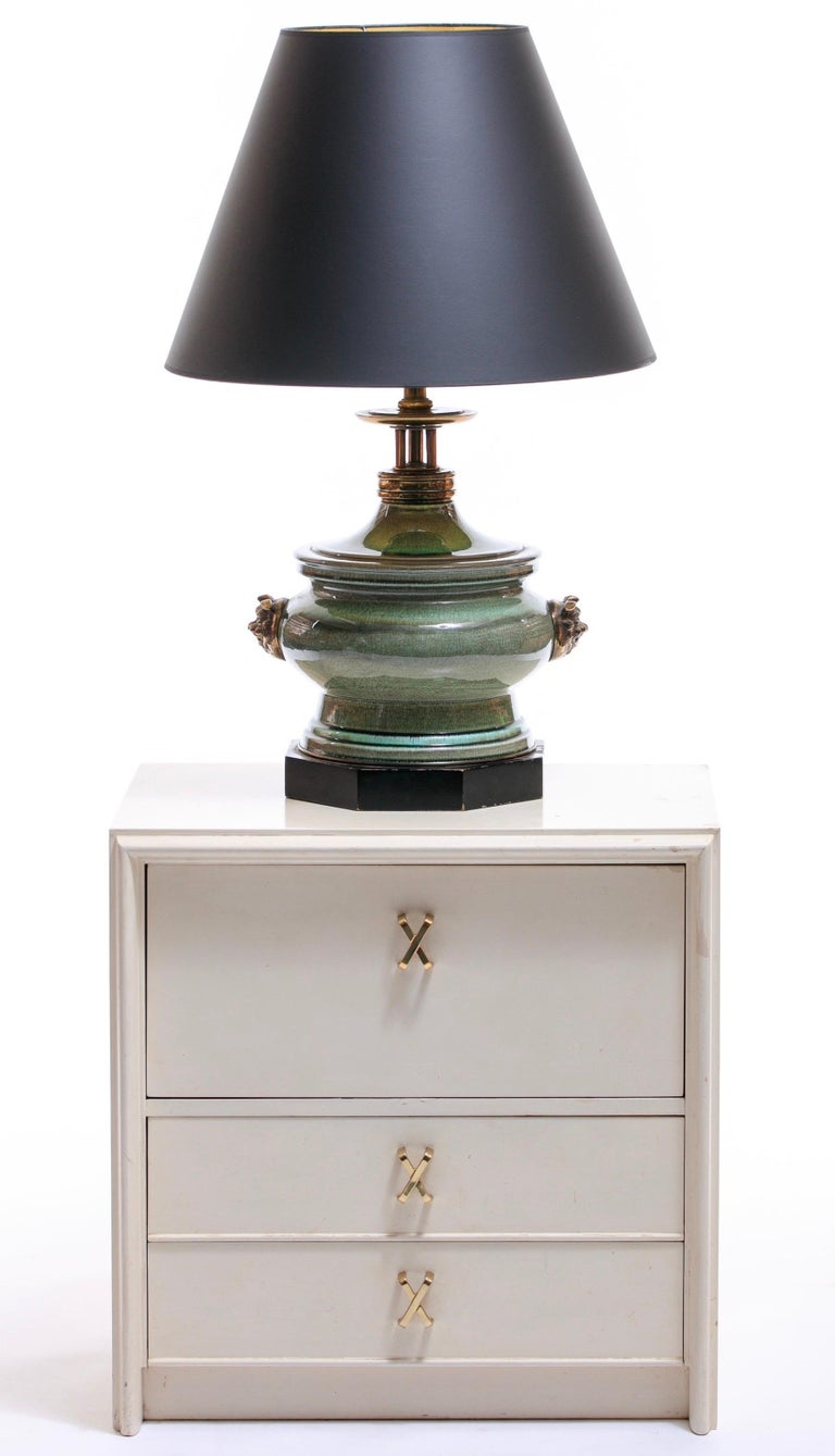 Everyone loves Paul Frankl furniture. A pillar of design, he created some of the most iconic midcentury pieces of furniture. And here we have a lovely pair of Paul Frankl ivory lacquered nightstands from Frankl's Debonair Collection for Johnson