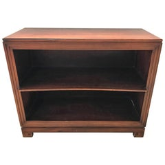Pair of Paul Frankl Petite Mahogany Bookcases for Johnson Furniture Co.