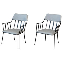 Pair of Paul Laszlo Patio Armchairs