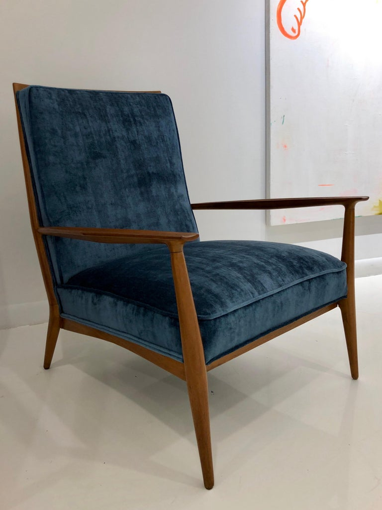 American Pair of Paul McCobb Easy Chairs For Sale