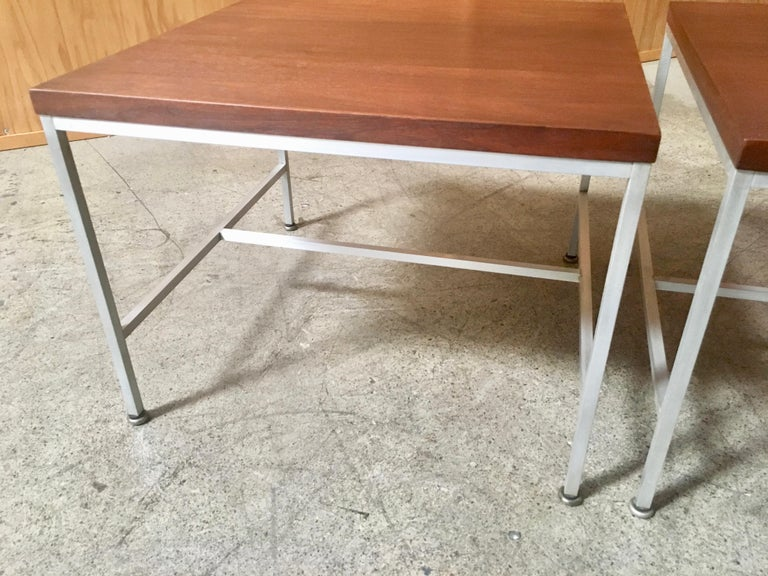 Pair of Paul McCobb End Tables For Sale 4