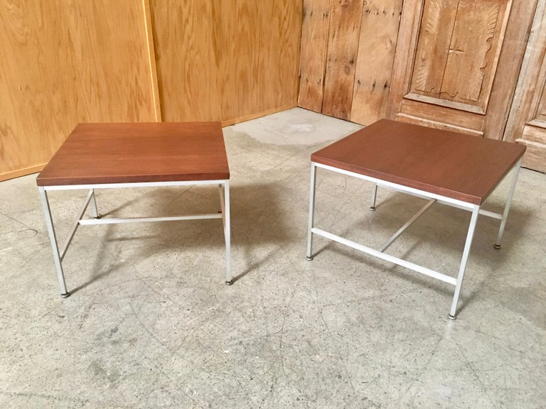 Pair of Paul McCobb End Tables For Sale 8