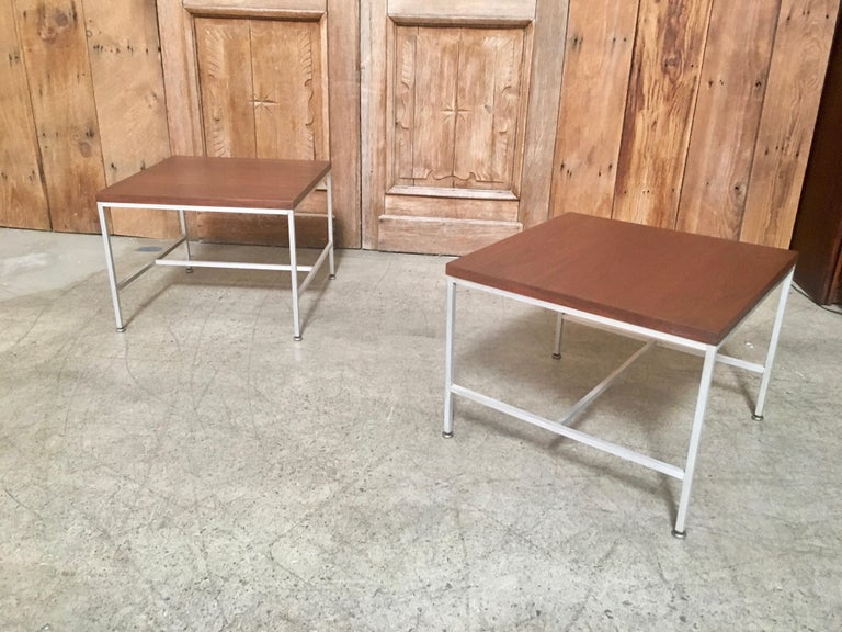 Pair of Paul McCobb End Tables For Sale 9