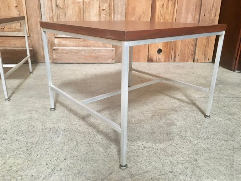 Pair of Paul McCobb End Tables For Sale 11