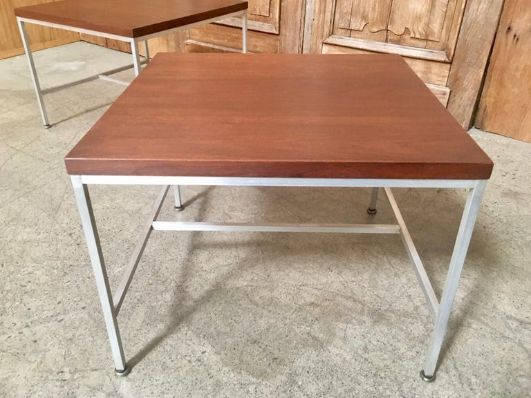Pair of Paul McCobb End Tables For Sale 12