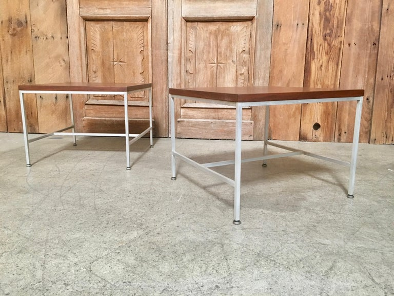 American Pair of Paul McCobb End Tables For Sale