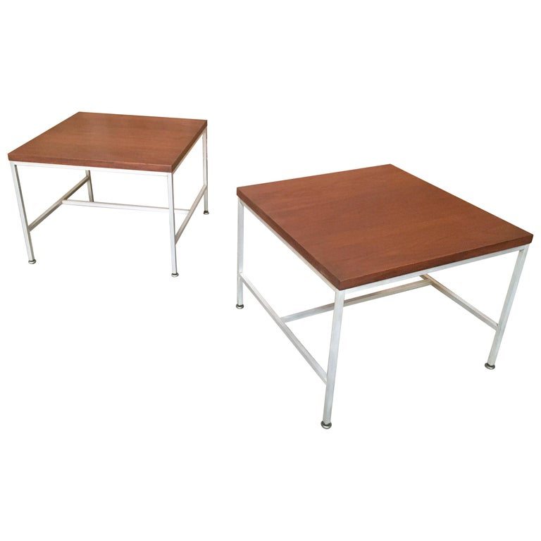 Pair of Paul McCobb End Tables For Sale